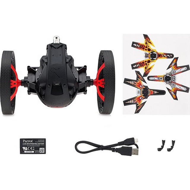 PARROT MINIDRONE JUMPING SUMO WIFI BLACK